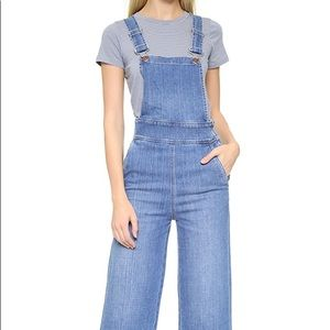 MADEWELL Summit Culotte Overalls NWT